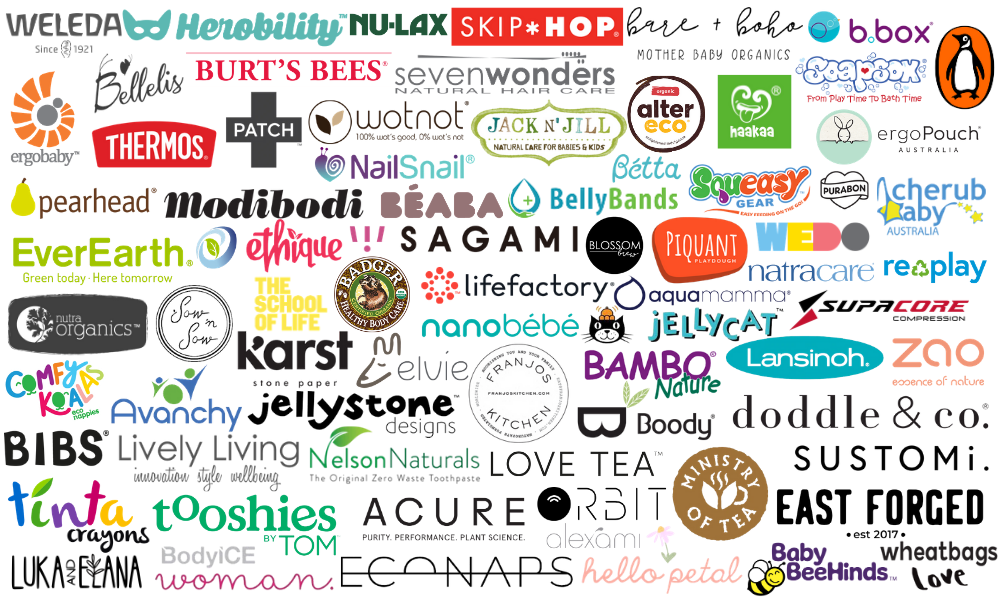 Brands we love and work with